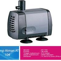 Mesin Pompa Water Pump Power Head Filter Aquarium Kolam Merk Atman 104