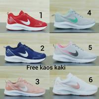 Nike Zoom size 36 - 40 sepatu wanita olahraga sports running hitam abu