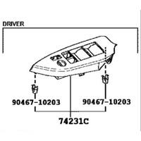 74231-0K540 PANEL, FRONT DOOR ARM REST BASE, UPPER DRIVER SIDE TOYOTA