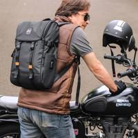 Tas laptop ransel backpack neo tech riding mens style ori
