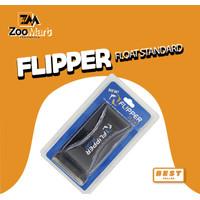 Flipper Standart Float 2in1 / Magnet Pembersih Kaca Aquarium / Kaca