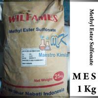 MES / Methyl Ester Sulfonate Flake 1 Kg Bahan Aktif Sabun