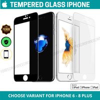 Tempered Glass iPhone Anti Gores Screen Guard iPhone 6 6S 7 8 PLUS +