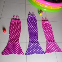 Baju Kostum Renang Mermaid / Putri Duyung Anak Motif POLKADOT
