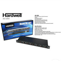 Crossover 4 WAY STEREO Hardwell AC-204 plus output subwoofer original