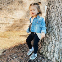 Sepatu Bayi Vans Toddler Slip-On Checkerboard Original Resmi