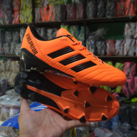 (REAL PICT)Sepatu sepak bola adidas predator orange grade ori terlaris
