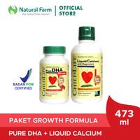 ChildLife Essentials DHA 90 softgels + Liquid Calcium 473 ml