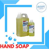 Sabun Cuci Tangan Antiseptik BENING Hand Wash Refill 5 liter - LEMON