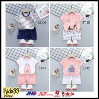 Setelan Anak Baju Celana Kaos Import Usia 8 Bulan - 7 Tahun Type 2
