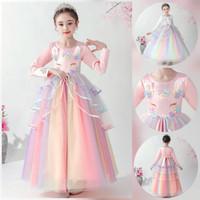 Dress anak sz 4-9th baju pesta anak panjang gaun pesta anak unicorn
