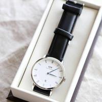 Jam tangan DW pria classsic sehffield Original - 38mm