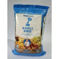 Bogasari Kunci Biru Tepung Terigu (Protein Rendah) 1Kg