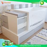 box bayi, box bayi tafel, tempat tidur bayi murah BB-6182