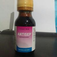 antisep pembasmi kuman 60 ml