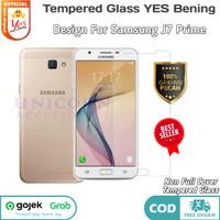 TG J7 Prime Samsung Tempered Glass YES CLEAR Anti Gores Kaca Bening