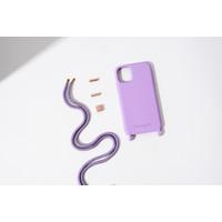 Purple Case dengan Purple Strap iPhone dan Samsung