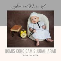 Baju Muslim Aqiqah Series   Jubah Arab Koko Bayi   Gamis Baby Balita