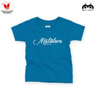 Kaos Jogja Anak M66 T-SHIRT - Malioboro Latin (Turquoise Tua)