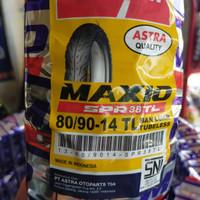 BAN LUAR TUBELESS MATIC 80/90-14 MAXIO SPR 38 MIO / VARIO / BEAT