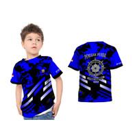 Baju Kaos Anak Satpol PP 02 Fullprint Sublime