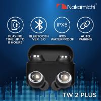 Nakamichi My Music Hue TW2 Plus Wireless Earbuds - Hitam