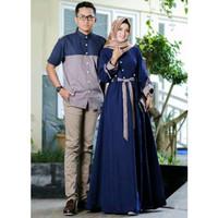 Baju pasangan RDR CP ARMADA IJO BOTOL couple gamis muslim murah couple