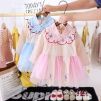 Dress cheongsam bayi batita import BD29 baju anak cny imlek