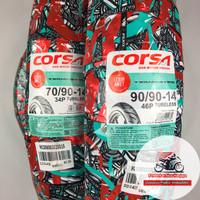Corsa Terminator 70/90 & 90/90-14 Ban Matic Tubeless + Pentil