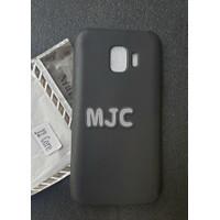 Black Matte Samsung Galaxy J2 Core Soft Case Black Solid Murah