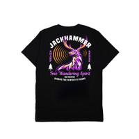 Jackhammer Wandering Spirit Tee Kaos Pria Black