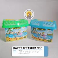 Sweet Terarium No. 1 Kandang Hewan Aquarium Ikan Hias Hamster Reptil