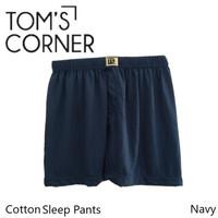 Celana Boxer Pria Merk TC   Celana Tidur Katun   kolor bahan kaos
