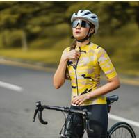 Baju Sepeda Cycling Jersey Cowok/Cewek/Unisex Pro air - Camo yelow