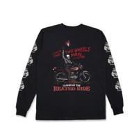 Jackhammer Two Wheels Man LS Tee Kaos Lengan Panjang Pria