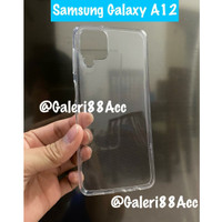 Samsung Galaxy A12 Soft Case Silicon Tpu Clear Casing