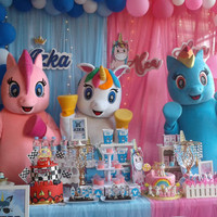 Badut Little Pony Badut Kuda Poni Pinkie Pei Mc Dekorasi Balon Magic