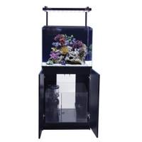 Aqua One Set Akuarium Dan Kabinet Mini Reef 120 60x45x45 Cm - Hitam