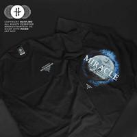 Kaos distro/T-shirt dakwah islami HATF Prophet Muhammad SAW Black