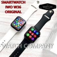 Smartwatch IWO W46 ORIGINAL Wireless Charger 1:1 Apple Watch Series 6 - Hitam, W46 44mm