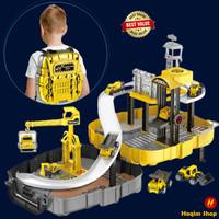 Mainan Anak Laki Laki Edukasi Cowok Mobil Mobilan Konstruksi K48