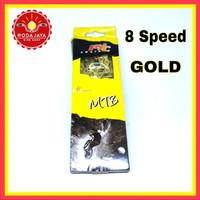 Rantai Sepeda MTB 8 Speed PYC