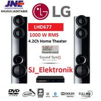 LG Home Theater System LHD 677 / LHD677 Full HD 4.2Ch Bluetooth 1000 W