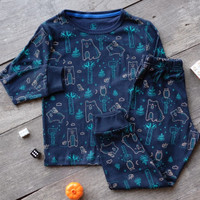 Baju Tidur Anak Laki laki Piyama Anak Perempuan Full Print