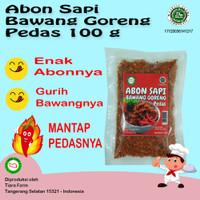 Abon Sapi Bawang Goreng Pedas 100 g Spicy Beef Floss (Tiara Farm)
