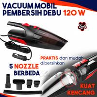 Portable Vacuum Cleaner Penyedot Debu Mobil 12V 120W - Black
