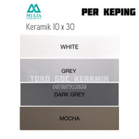 KERAMIK DINDING 10x30/LIST KERAMIK 10x30/PLINT LIST KERAMIK 10x30