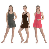 Silver baju renang wanita dewasa model rok - 11386
