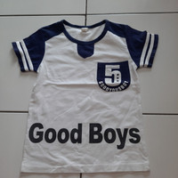 Baju Kaos Anak Good Boys Pendek PRELOVED