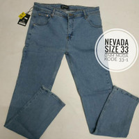 Celana Jeans Pria/ Cowok Nevada size 33